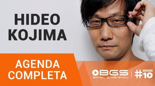 BGS revela como você poderá se encontrar com Hideo Kojima; veja agenda