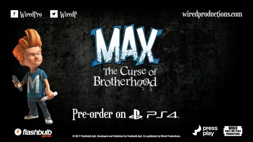 Max: The Curse of Brotherhood é anunciado para PS4; conheça