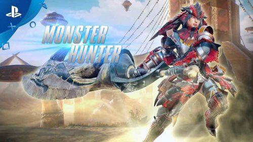 Monster Hunter é apresentada para Marvel vs. Capcom: Infinite