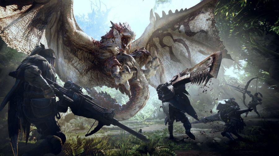 Testamos na BGS 2017:  Monster Hunter World
