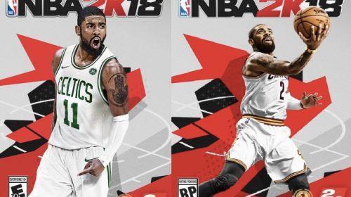 2K revela cover alternativo para NBA 2K18; Veja detalhes