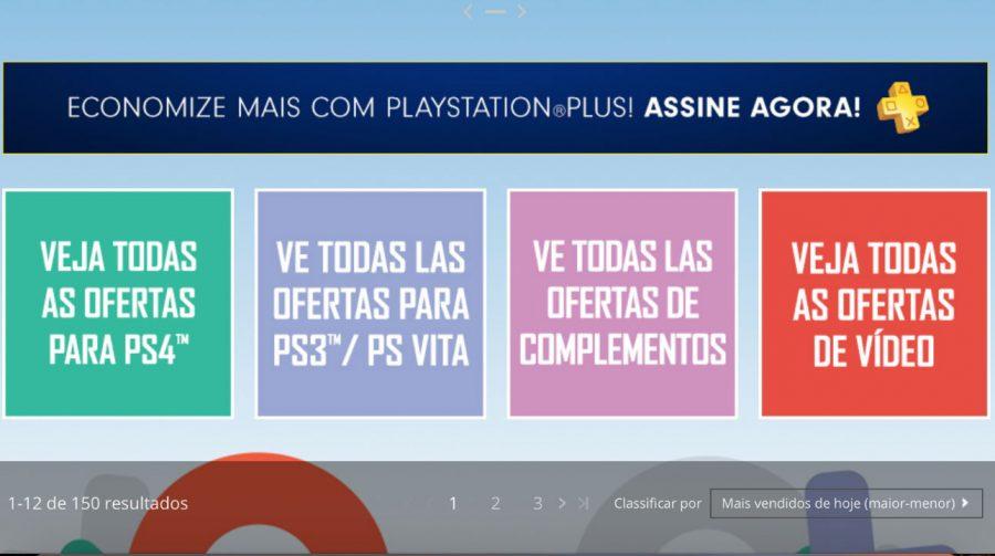 Promoção PlayStation Picks na PSN oferece mais 100 jogos; veja preços