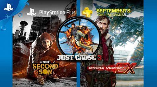 Conheça os jogos da PlayStation Plus de setembro de 2017