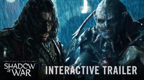 Sombras da Guerra tem novo trailer interativo revelado; Veja