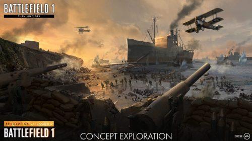 Novas informações sobre o próximo DLC de Battlefield 1, Turning Tides