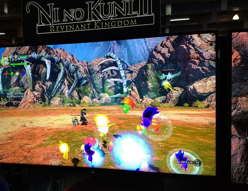 Testamos na BGS 2017: Ni No Kuni ll: Revenant Kingdom 1