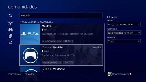 Encontre amigos para jogar! Faça parte da maior comunidade de PS4 do Brasil