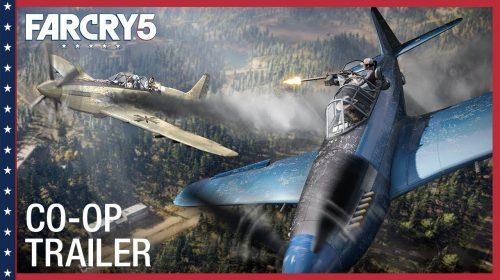 A união faz a força! Trailer de Far Cry 5 na PGW é focado no co-op