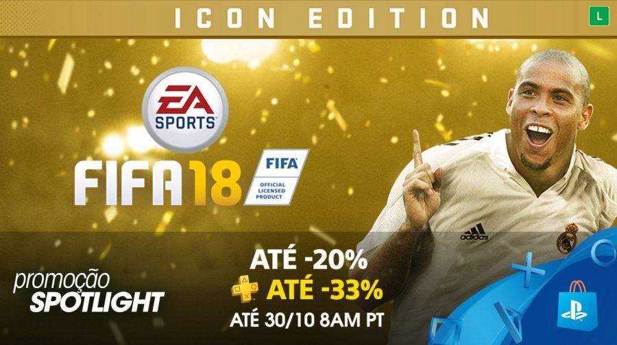 FIFA 18 está em promoção na PlayStation Store; saiba mais