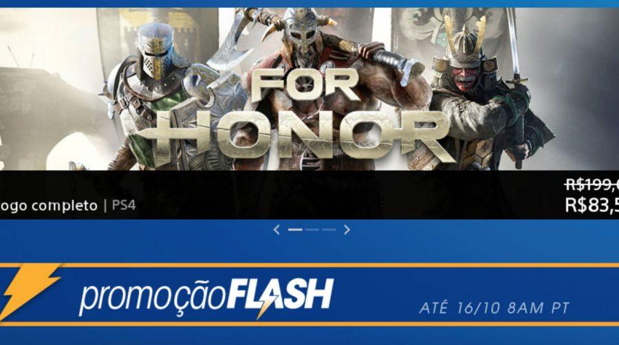 Hora de Gastar! Sony anuncia Promoção Flash de outubro; veja