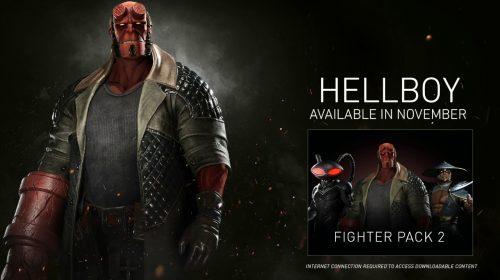 Hellboy chega chutando tudo em Injustice 2; veja primeiro trailer