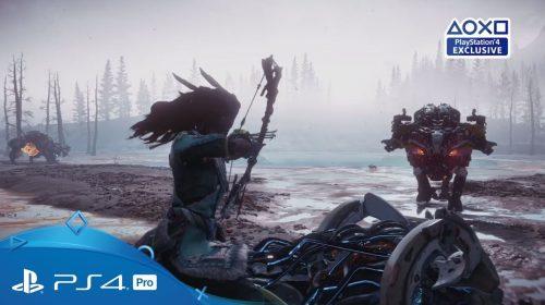 The Frozen Wilds, expansão de Horizon, recebe primeiro trailer de gameplay