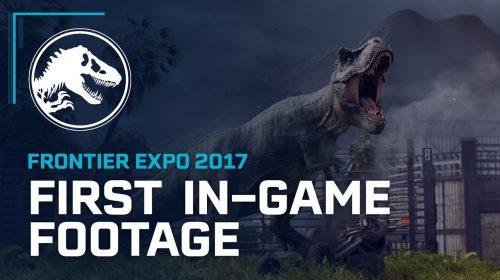 Jurassic World Evolution para PS4 recebe primeiro vídeo mostrando visual