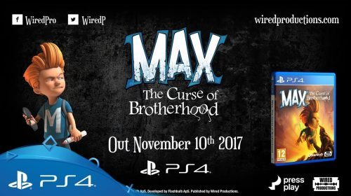 Max: The Curse of Brotherhood chegará ao PS4 em novembro; conheça