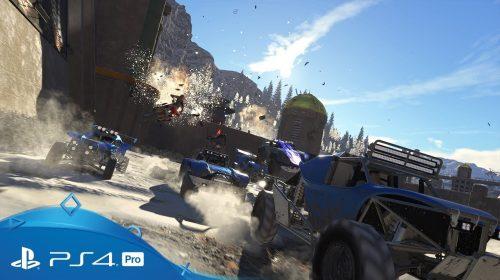 Carros e destruição! Onrush é anunciado na Paris Games Week 2017