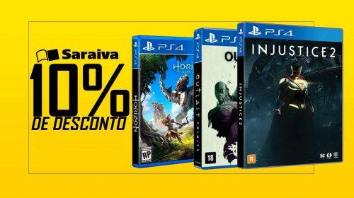 Novo God of War, SoTC e outros lançamentos com descontos; confira