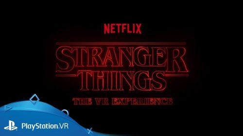 Stranger Things receberá experiência no PlayStation VR em breve
