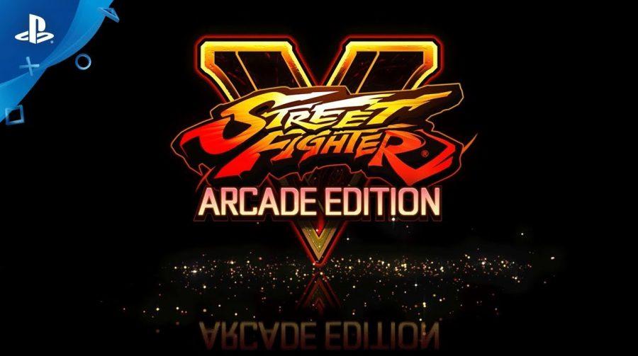 Confirmado! Capcom anuncia oficialmente Street Fighter V: Arcade Edition