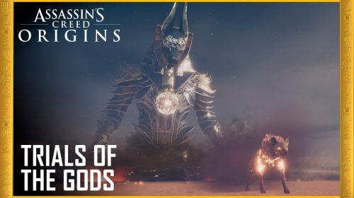Enfrente o deus egípcio Anubis em evento especial de AC: Origins