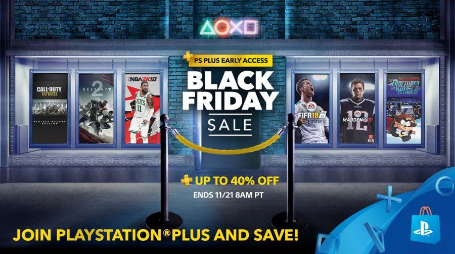 Black Friday na PSN começa nesta semana (para assinantes), informa Sony