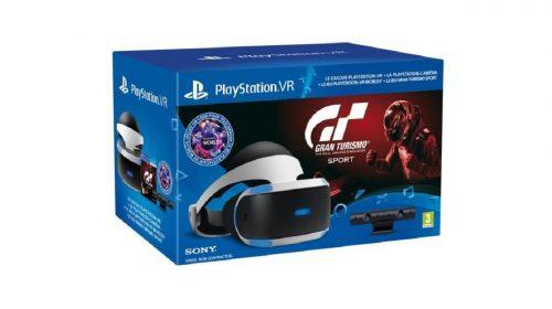 Sony anuncia novo bundle do PlayStation VR com Gran Turismo Sport