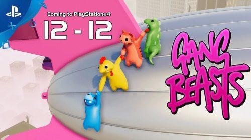 Gang Beasts já disponível na PSN; Desconto de 20% por tempo limitado