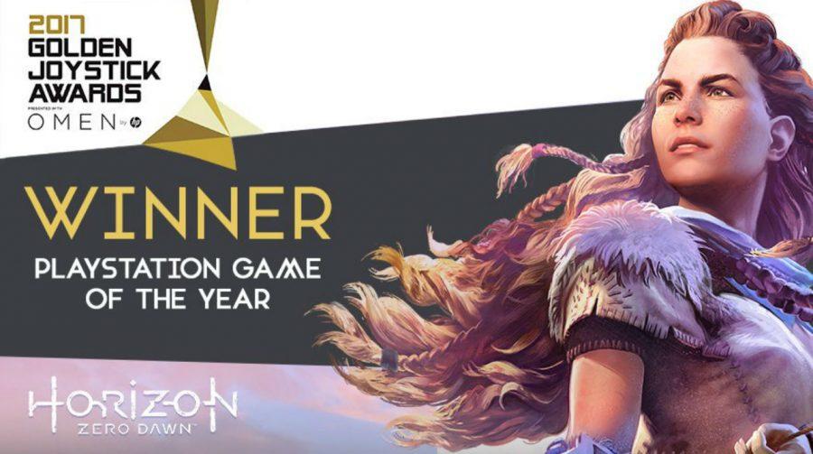 Horizon: Zero Dawn e TLoU Part II ganham prêmios no Golden Joysticks