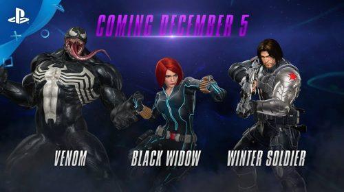 Venon, Viúva-Negra e Soldado Invernal são mostrados em MvC: Infinite