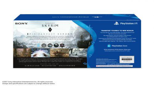 Sony anuncia bundle de Skyrim para o PlayStation VR