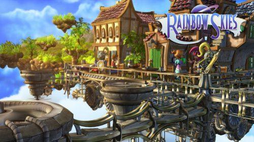 Rainbow Skies, RPG tático, chegará ao PS4 em 2018; conheça