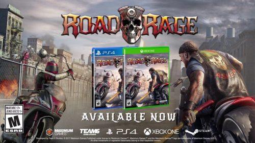 Road Rage já está disponível para PS4; Veja trailer de lançamento