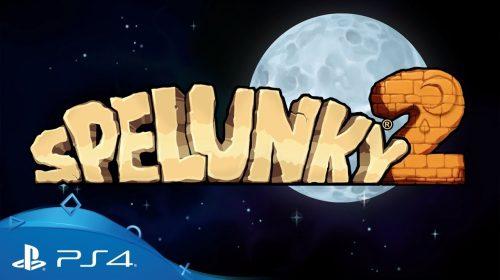 Primeiro trailer de Spelunky 2 para PS4 é revelado; confira