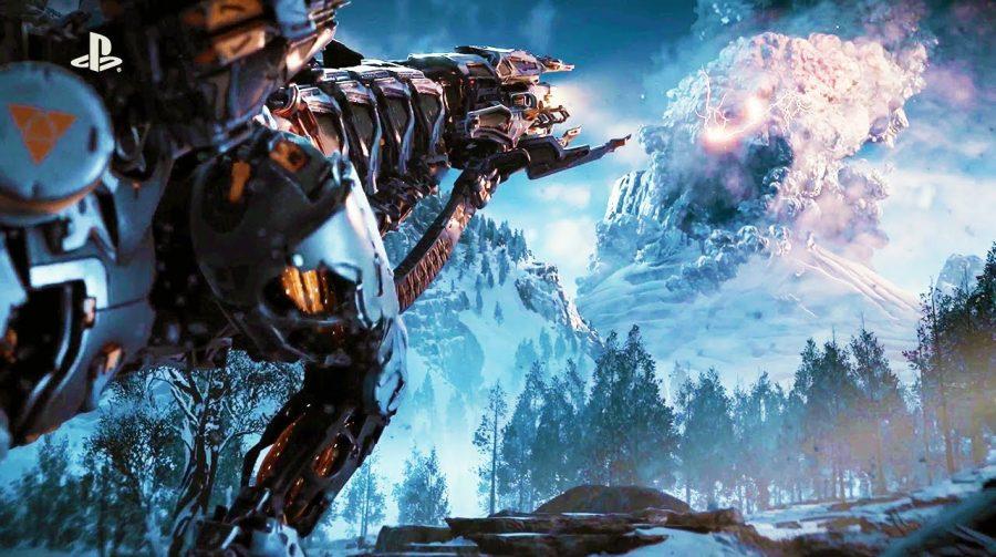 Sony está enviando DLC de Horizon e tema de Natal para alguns usuários