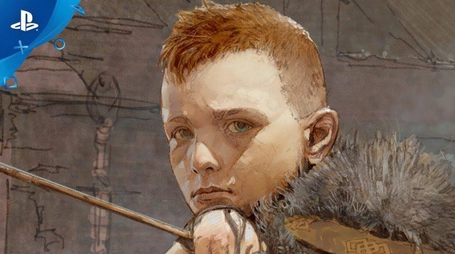 Novo vídeo de God of War revela mais de Atreus, filho de Kratos; veja