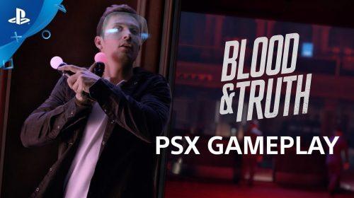 [Testamos na PSX] Blood & Truth vira exemplo no PSVR
