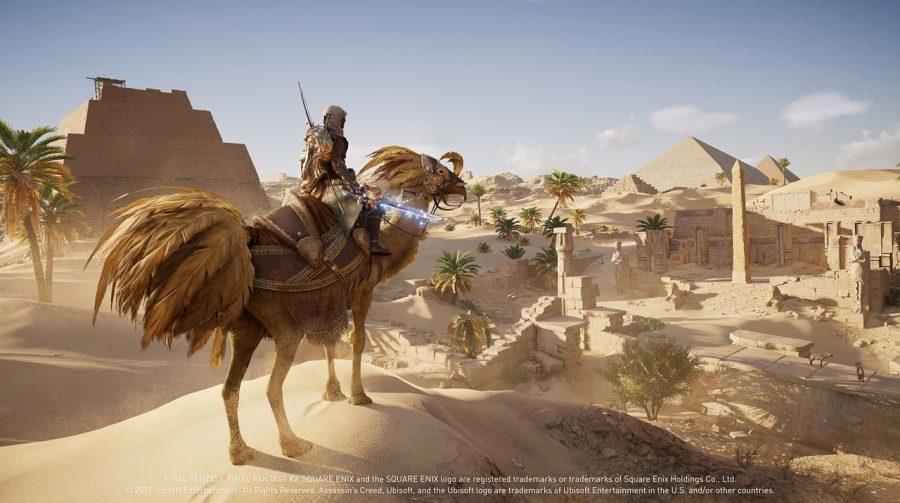 Assassin's Creed Origins recebe chocobos de Final Fantasy; saiba mais