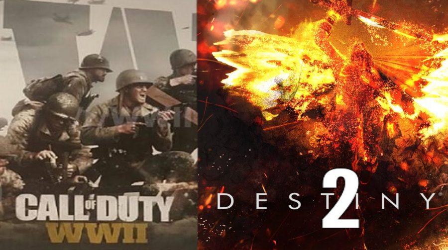 CoD: WWII e Destiny 2 são os dois jogos mais vendidos do ano