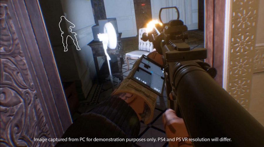 [Testamos na PSX] Shooter co-op para VR, Firewall Zero Hour empolga
