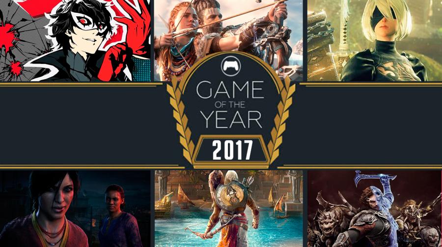 [Resultado] Os melhores jogos de 2017, segundo os leitores