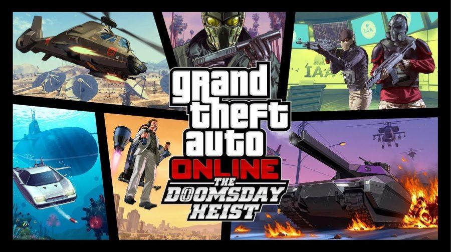 The Doomsday Heist de GTA V já está disponível; veja novidades