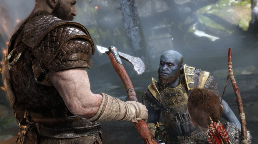Sony revela mais detalhes das armas de Kratos e Atreus em God of War