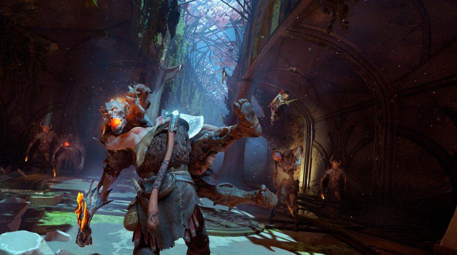 Designers revelam alguns detalhes do novo God of War