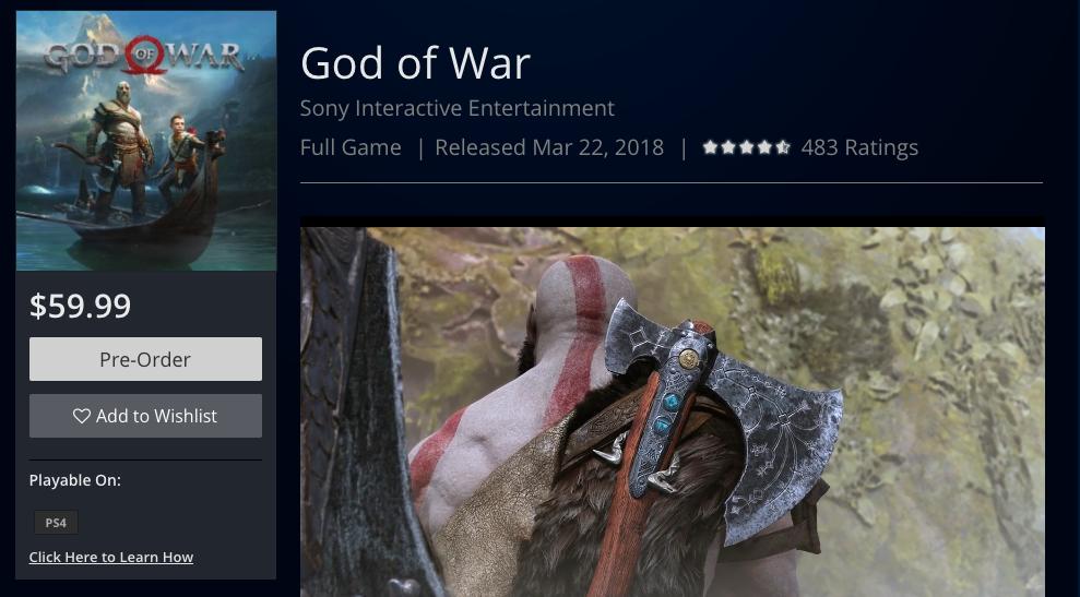Novo rumor aponta (novamente) lançamento de God of War para março 1