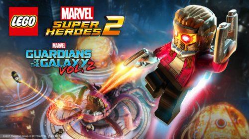 Guardiões da Galáxia Vol. 2 chega ao LEGO Marvel Super Heroes 2