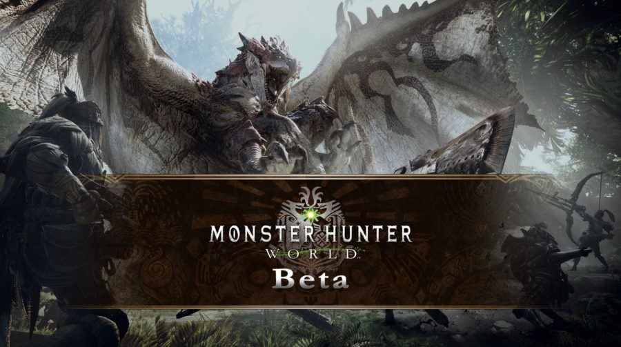 Capcom anuncia novo BETA aberto para Monster Hunter World