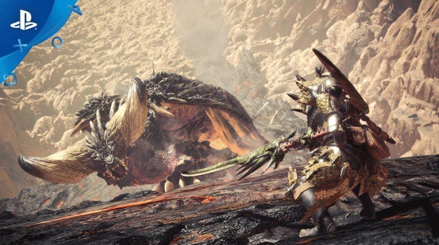 Monster Hunter World receberá mais monstros após lançamento