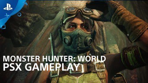 [Testamos na PSX] Monster Hunter World tem altos e baixos em demo