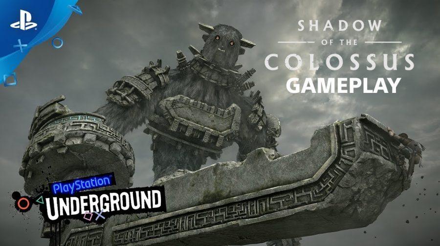 [PSX] 14 minutos de gameplay de Shadow of the Colossus no PS4; veja