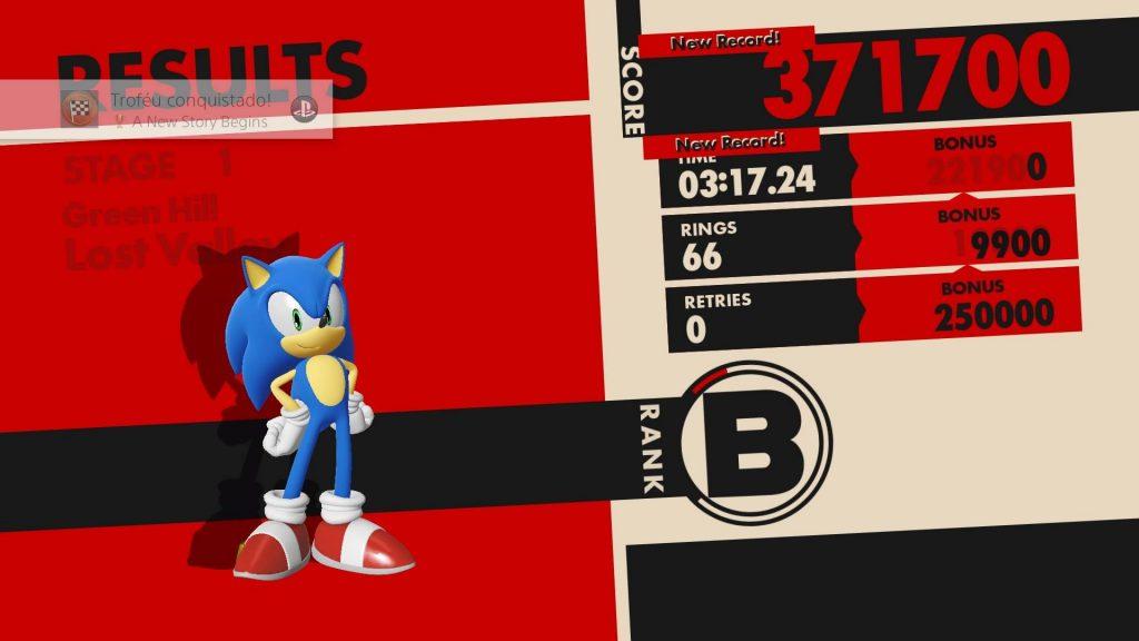 Sonic Forces - Fim de Fase