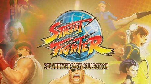 Street Fighter Collection contará com modos Treino e Versus